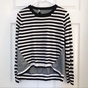 French Connection Mixed Print Sweater